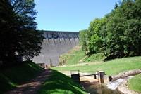 Barrage du Chartrain à Renaison