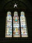 Vitrail de la basilique de Fourvière