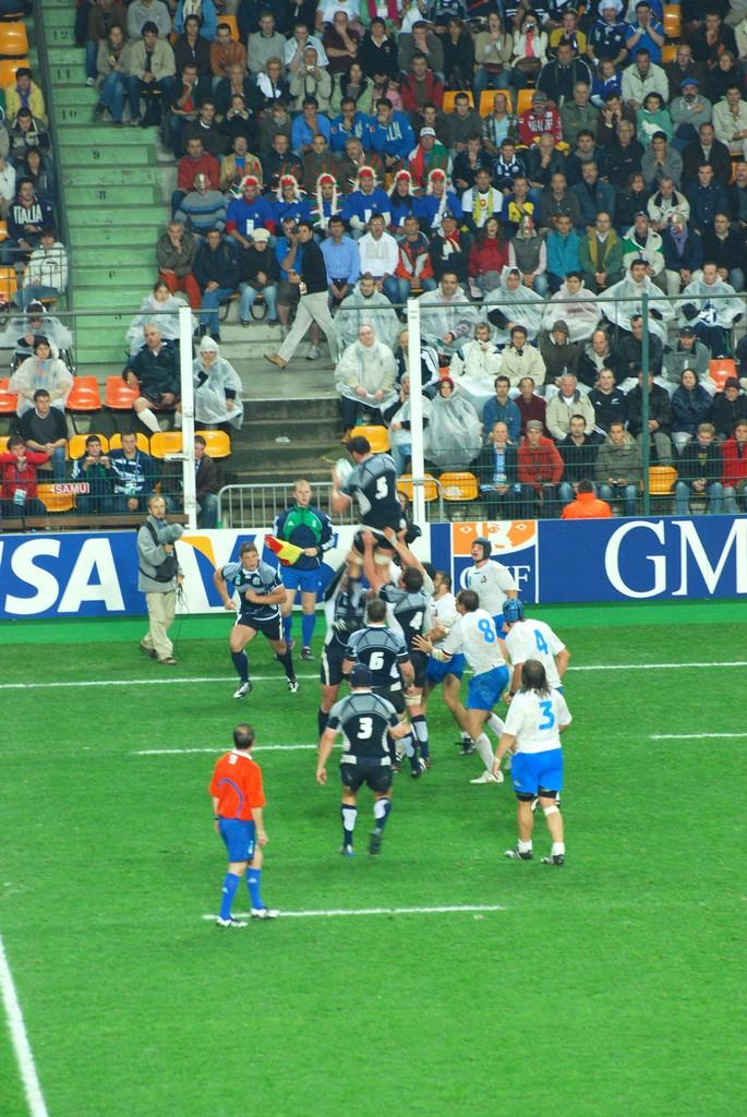 Photos sports coupe du monde de rugby 2007 saint etienne 29 septembre 2007 - Coupe du monde rugby 2009 ...