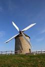 Le moulin de Moidrey, en face du Mont Saint-Michel