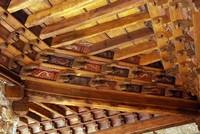 Un plafond du cloître de la cathédrale de Fréjus
