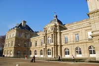 Le Palais du Luxembourg qui abrite le Sénat