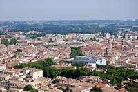 Vue depuis le haut de la tour Magne