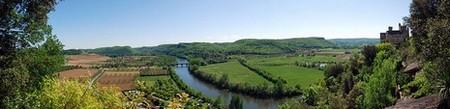 Périgord Dordogne > Vue sur la Dordogne depuis le haut de Beynac