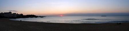 Provence et sud-ouest > Biarritz coucher de soleil