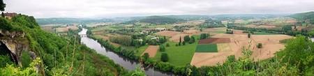 Périgord Dordogne > Vue sur la Dordogne depuis Domme