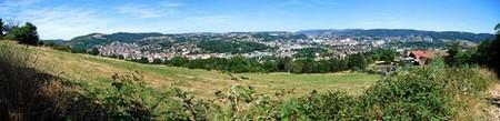 Unieux - Firminy - Fraisses > Vallée de l'Ondaine vue depuis Le Pin à Fraisses