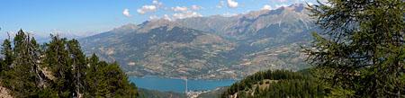 Montagne > Alpes - Lac de Serre-Ponçon (depuis Boscodon)