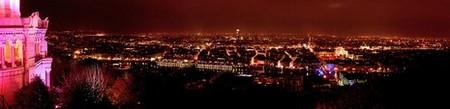 Lyon > Fête des Lumières 2005 depuis Fourvière