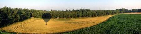 Montgolfière > Un champ vu depuis la montgolfière Cybevasion