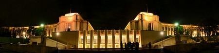 Paris > Palais de Chaillot la nuit
