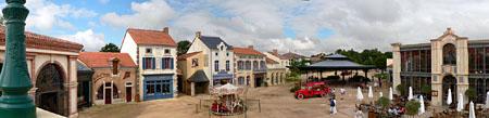 Vendée > Grand parc du Puy du Fou - Bourg 1900
