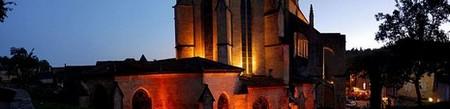 Périgord Dordogne > Eglise de Sarlat la nuit