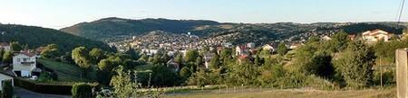 Unieux - Firminy - Fraisses > Unieux, collines